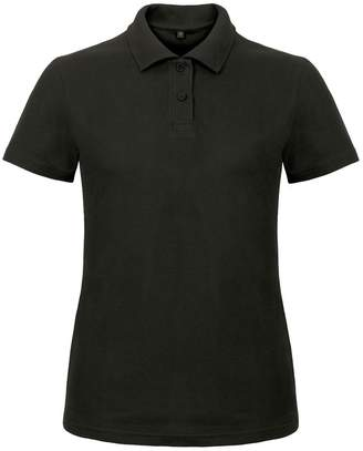BC B&C Womens/Ladies ID.001 Plain Short Sleeve Polo Shirt (S)