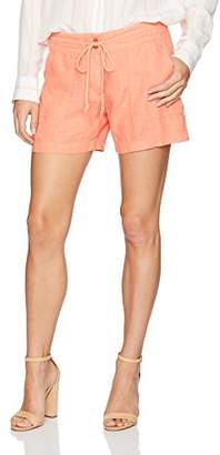 Margaritaville Women's Drawstring Easy Linen Short