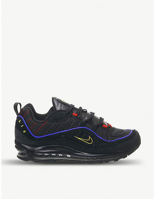 Nike 98 suede trainers