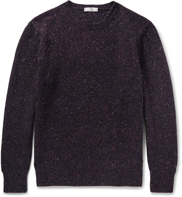 Donegal Merino Wool Sweater