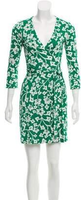 Diane von Furstenberg Julian Mini Silk Dress