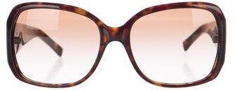 Tory BurchTory Burch Tortoiseshell Oversize Sunglasses
