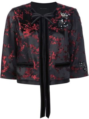 Marc Jacobs Cherry Blossom cropped jacket $832.47 thestylecure.com