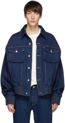 Levi's Feng Chen Wang Indigo Levis Edition Contrast Denim Jacket