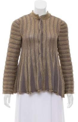 Giorgio Armani Knit Button-Up Cardigan