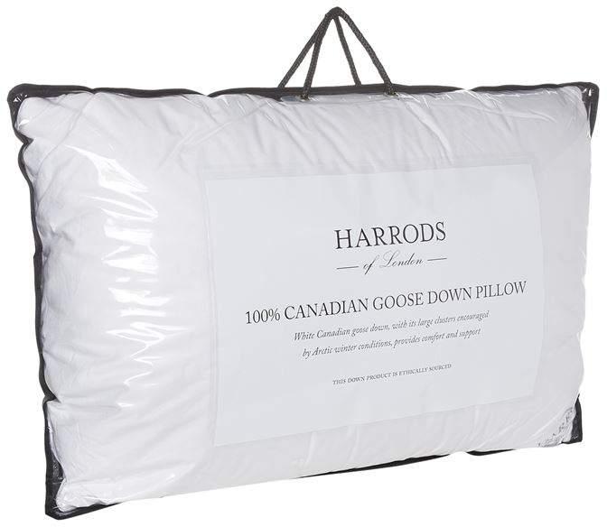 100% Canadian Goose Down Pillow (Medium/Firm)
