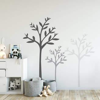 STUDY leonora hammond Set of Three Tree Wall Stickers