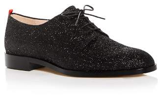 Sarah Jessica Parker Women's Ace Glitter Plain Toe Oxfords