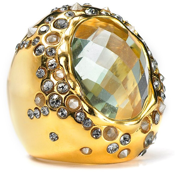 Alexis Bittar Faceted Hydroquartz Ring