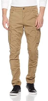 Wood Paper Company Men's Cargo Pant In Cotton Spandex Washed Twill