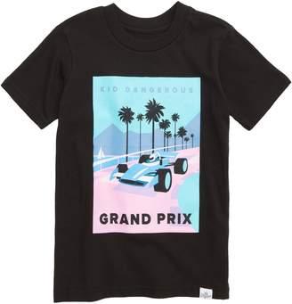 Kid Dangerous Neon Grand Prix T-Shirt