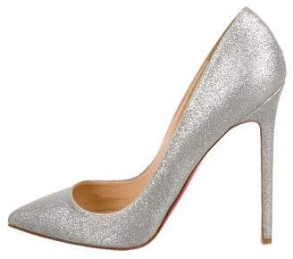Christian Louboutin Glitter Pigalle Pumps