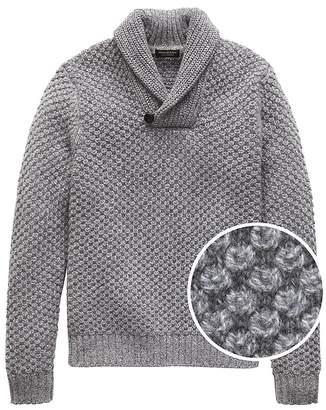 Banana Republic Cashmere Shawl-Collar Sweater