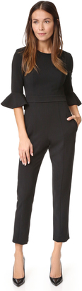 Black Halo Brooklyn Jumpsuit $375 thestylecure.com