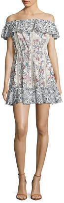 Tularosa Floral A-Line Dress