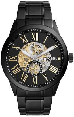 Fossil Men's Flynn Pilot Bracelet Watch, 48mm