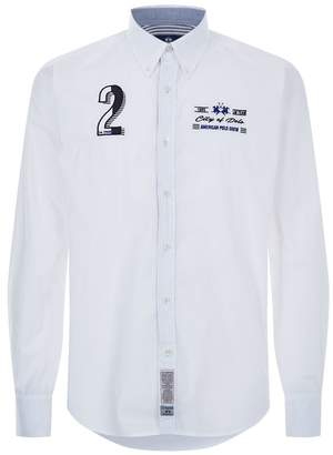 La Martina Embroidered Cotton Shirt