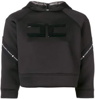 Elisabetta Franchi logo hoodie