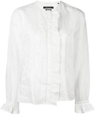 Isabel Marant Amos blouse $480 thestylecure.com