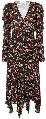 A.L.C. asymmetric printed dress