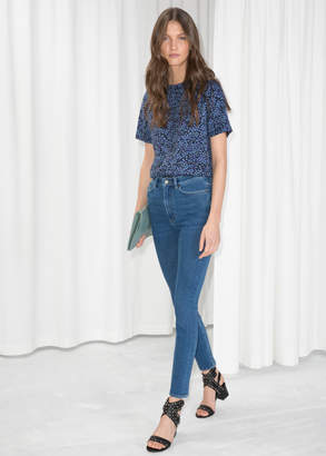 And other stories High-Waist Denim Jeans