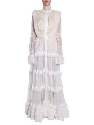 Amen Long Lace Dress