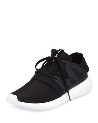 Adidas Tubular Viral Neoprene Sneaker, Core Black/Running White $100 thestylecure.com
