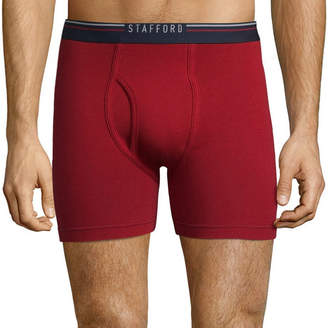 STAFFORD Stafford Life in Motion Perform 3pc. Breathable Mesh Boxer Briefs