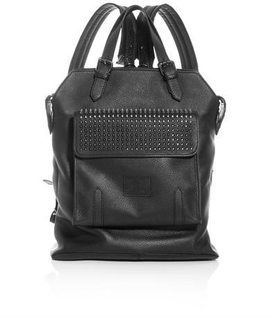 Christian Louboutin Syd spike leather back-pack
