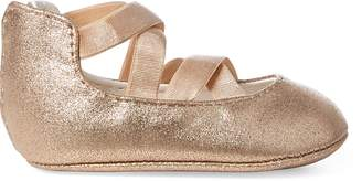 Ralph Lauren Priscilla Metallic Ballet Flat