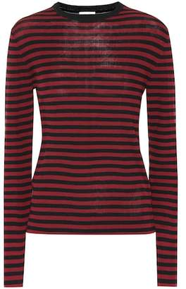 Saint Laurent Striped cotton shirt