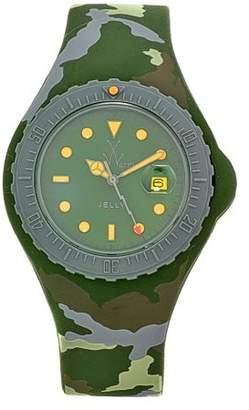 Toy Watch Women's JYA01HG Jelly Green Camo Rubber Watch