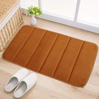 mtqsun Memory Foam Mat Rug Bath Bathroom Bedroom Non-slip Soft Mats Shower Floor