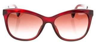 Paul Smith Gradient Square Sunglasses