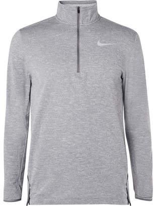 Nike Running Element Mélange Therma-Sphere Dri-Fit Half-Zip Top
