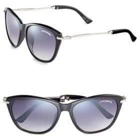 Steve Madden 50mm Cat-Eye Sunglasses