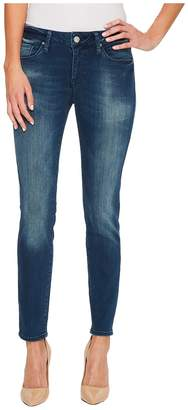 Mavi Jeans Adriana Ankle in Forest Indigo Tribeca Women's Jeans