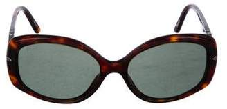 Persol Oval Tinted Sunglasses