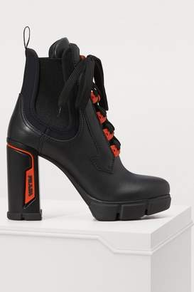 Prada Heeled ankle boots