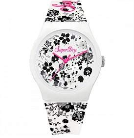 Superdry Urban Ditsy White Floral Silicone