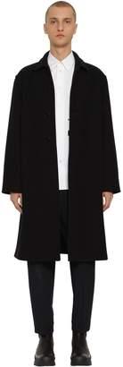 Jil Sander Single Breast Wool Coat