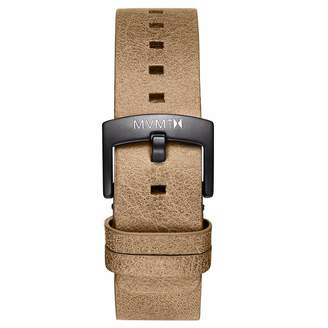MVMT Mens Revolver Series20mm Sandstone Leather