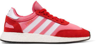 adidas I-5923 Neoprene And Suede Sneakers - Pink