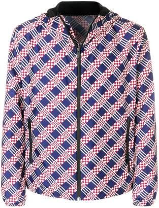 Fendi FF Logo Checked jacket