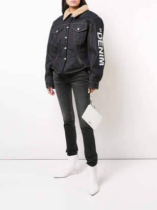 Off-White Off White Denim puffer jacket
