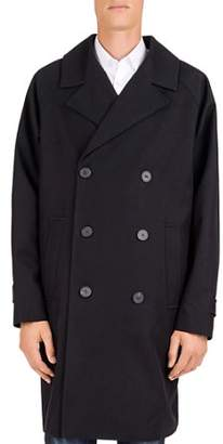 The Kooples Fit Violette Double-Breasted Coat