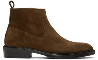 Tiger of Sweden Brown Suede Barant S Boots