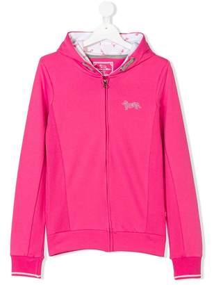 Harmont & Blaine Junior TEEN studded logo hoodie