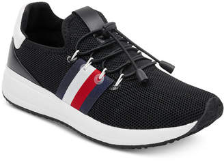 297095a35 Tommy Hilfiger Black Women s Sneakers - ShopStyle