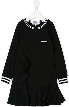 Givenchy Kids long-sleeve ruffle dress
